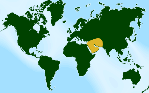 World Map East